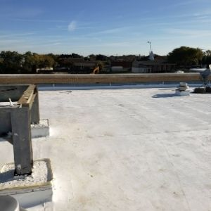 TPO Commercial Flat Roof Frisco