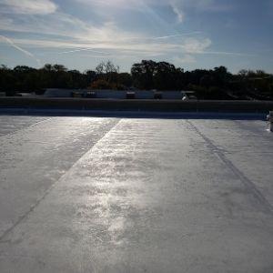 TPO Flat Roof Installed Little Elm