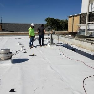 TPO Commercial Roof Inspection Dallas